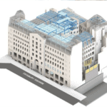 CAD Drawing of City Gate House